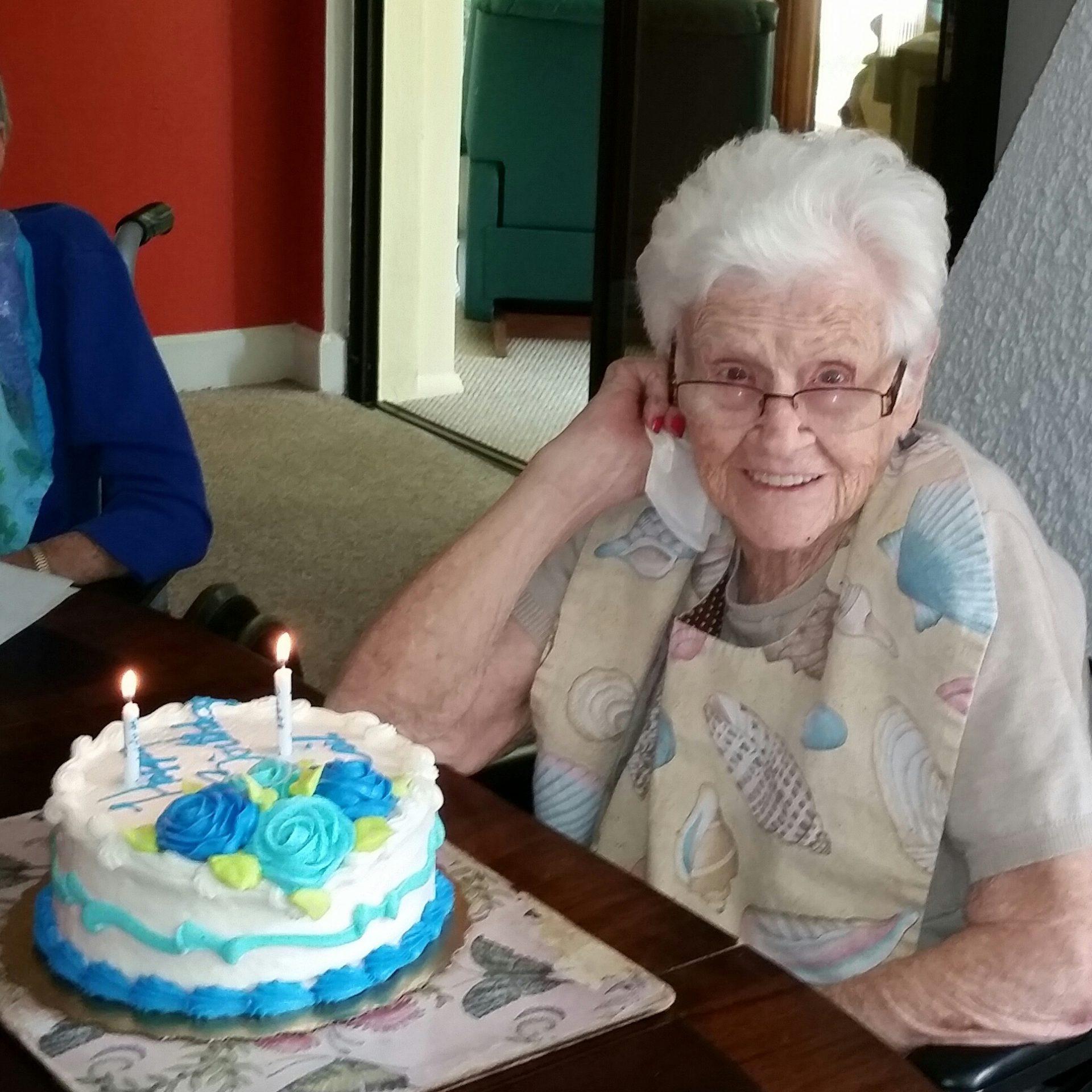 96th birthday.