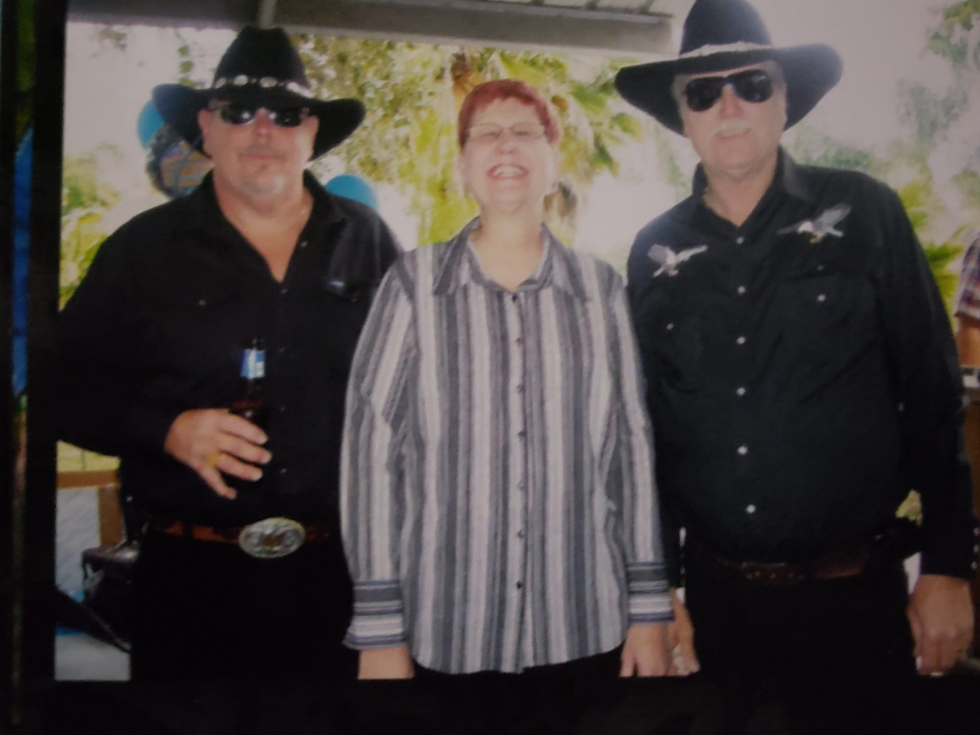 Mike, Debi and James