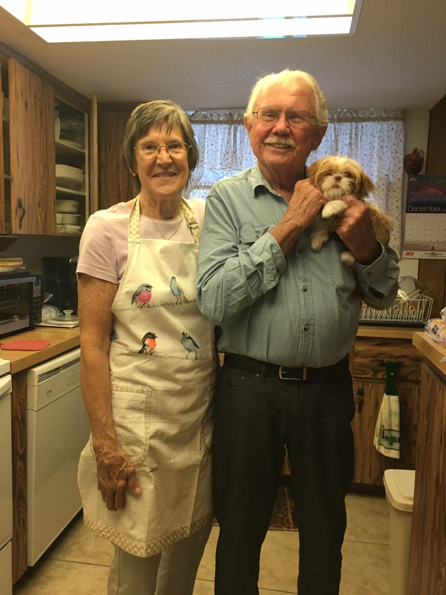 Therese, Bill and Skye