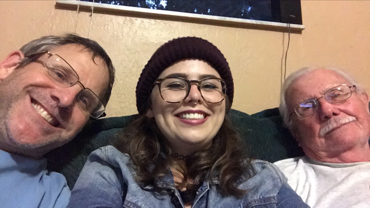 Dad, Kelli, and Paul