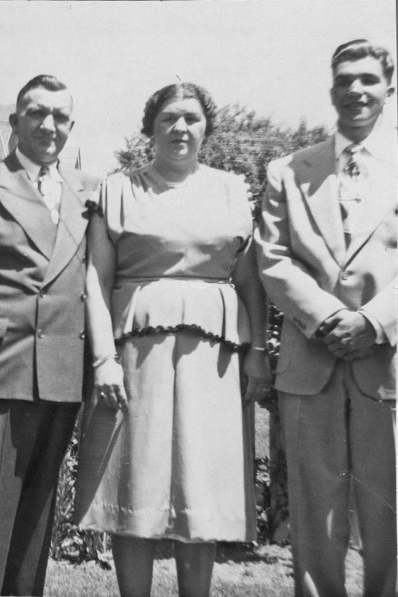 1949 Michalski family - Richard - H.S. Graduation