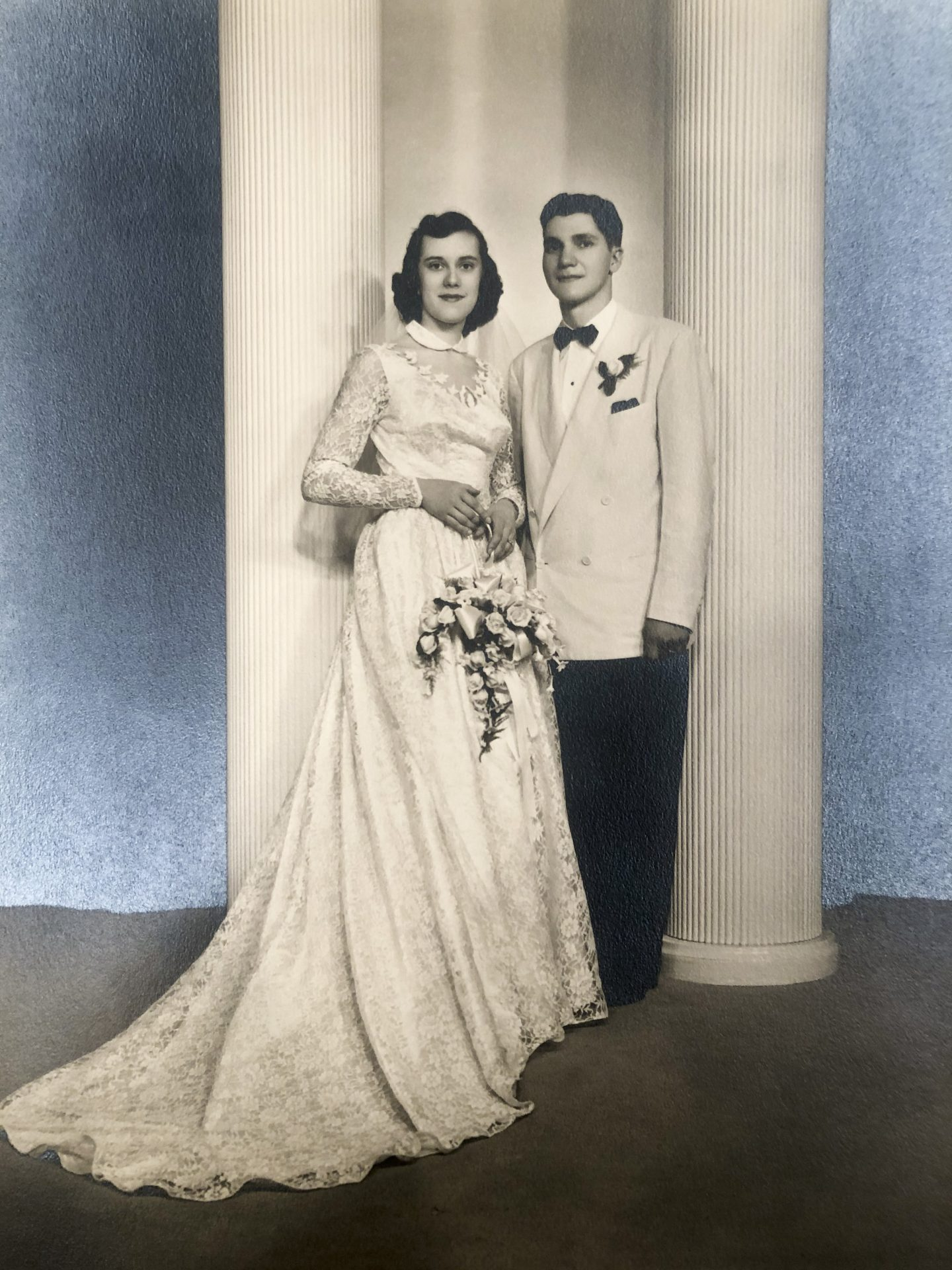 1952 MaryAnn & Richard Wedding