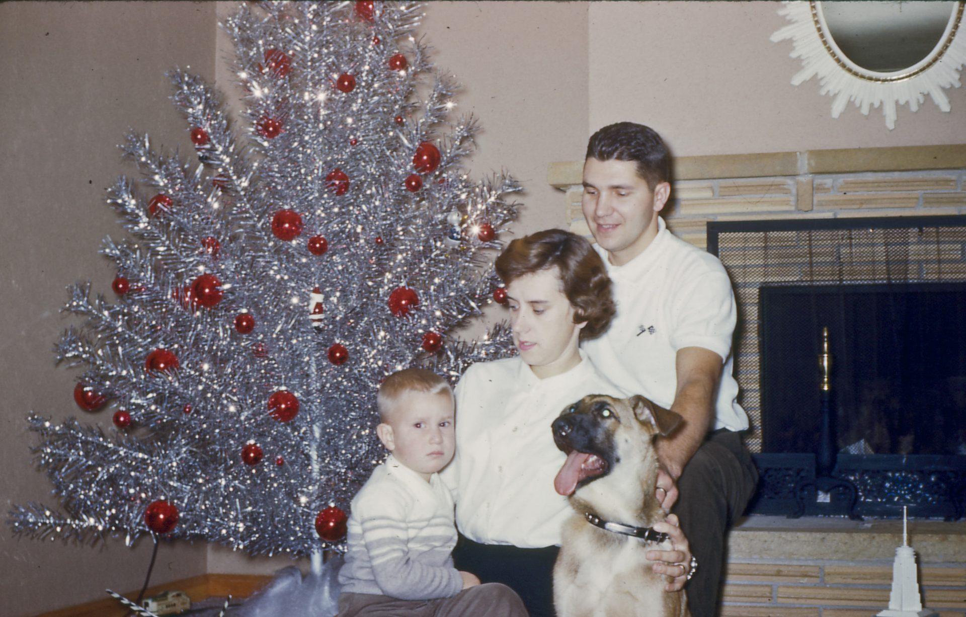 1959 Michalski Christmas - Michael MaryAnn Richard & Rocky