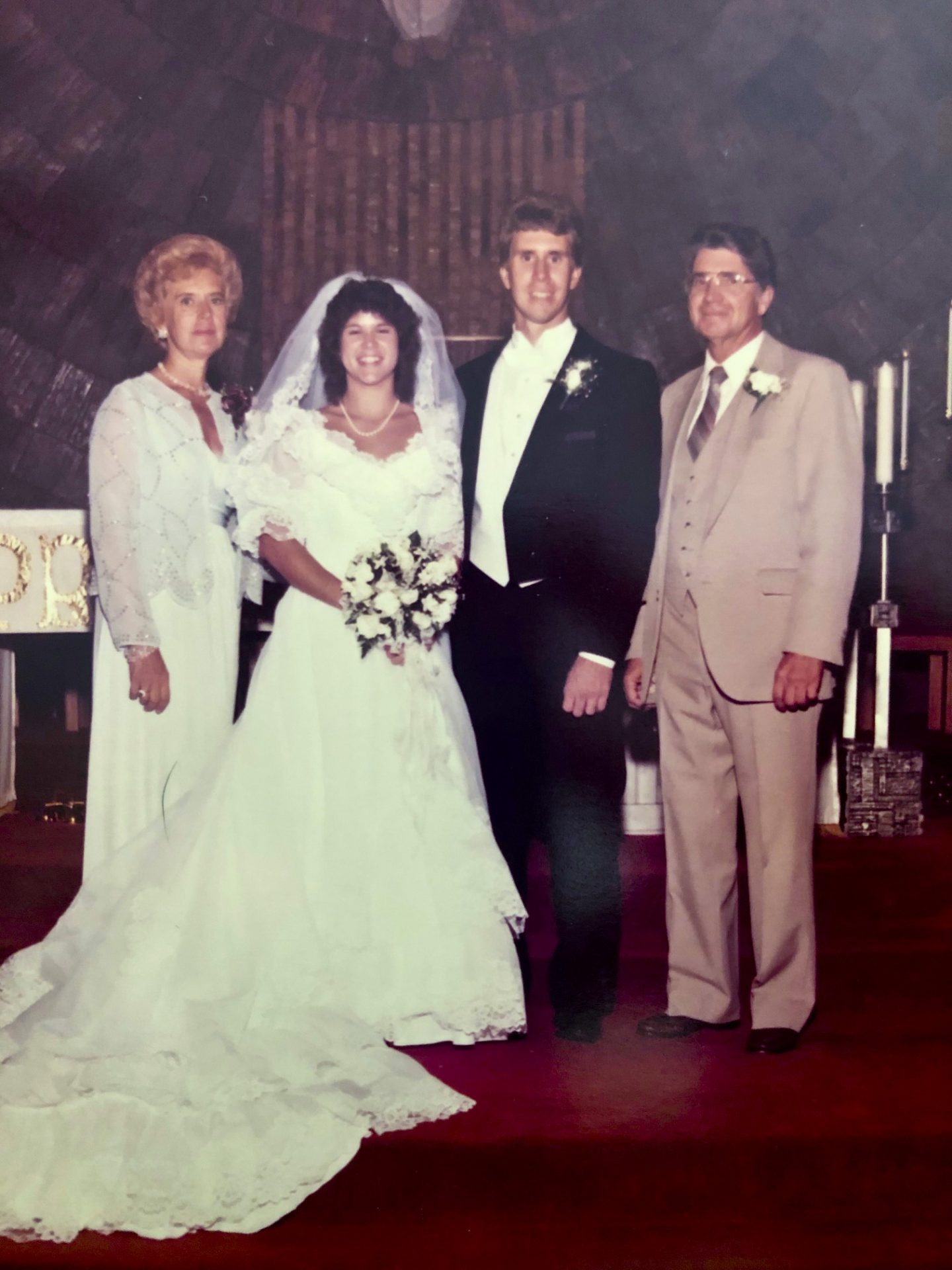 1984 - Michael & Jeanne Wedding