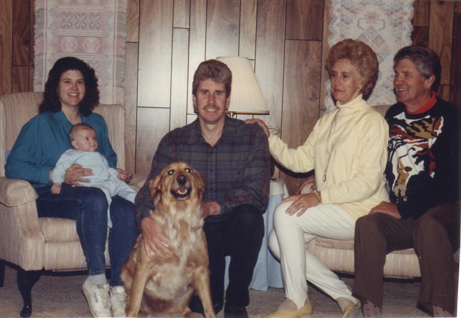 1993 - Michalski Family - Matthew at 4 mos.