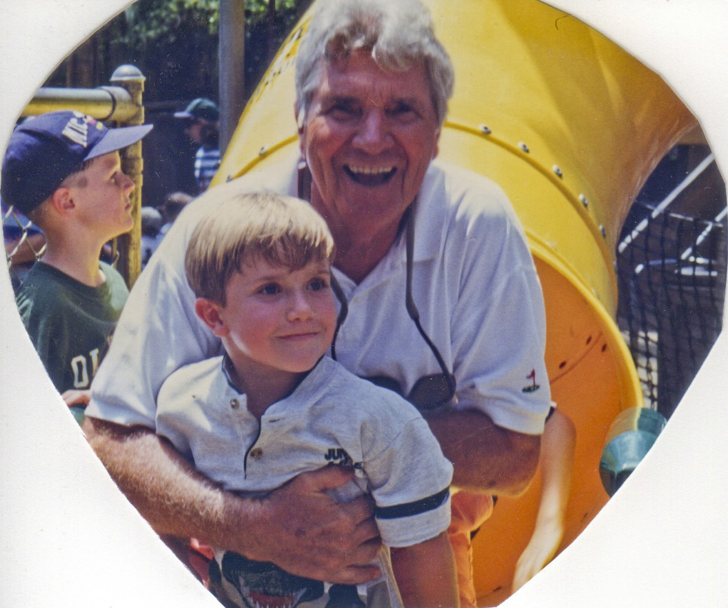 1999 - Richard w/grandson Matthew at Disney
