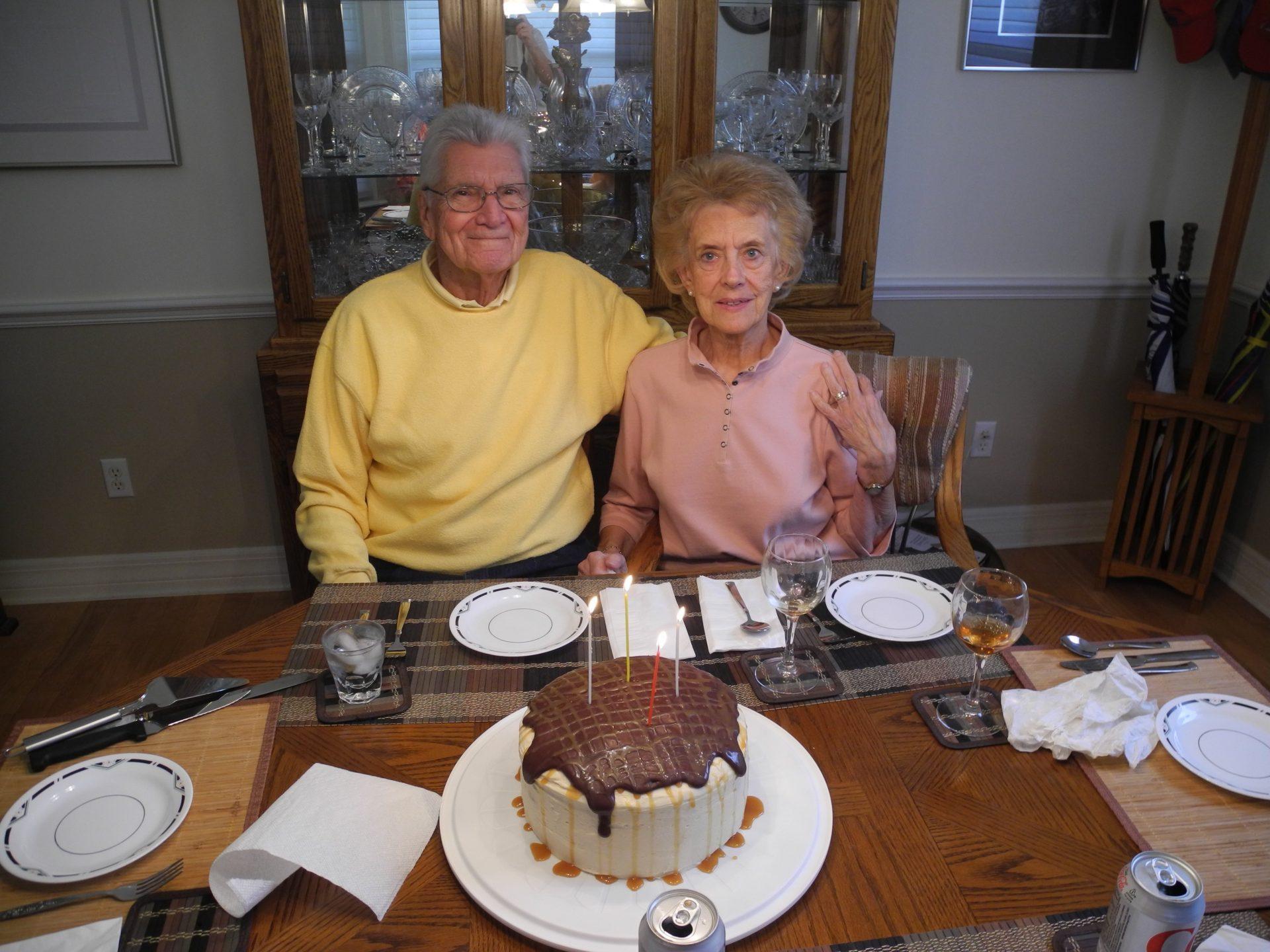2015 - Richard 84th Birthday w/MaryAnn