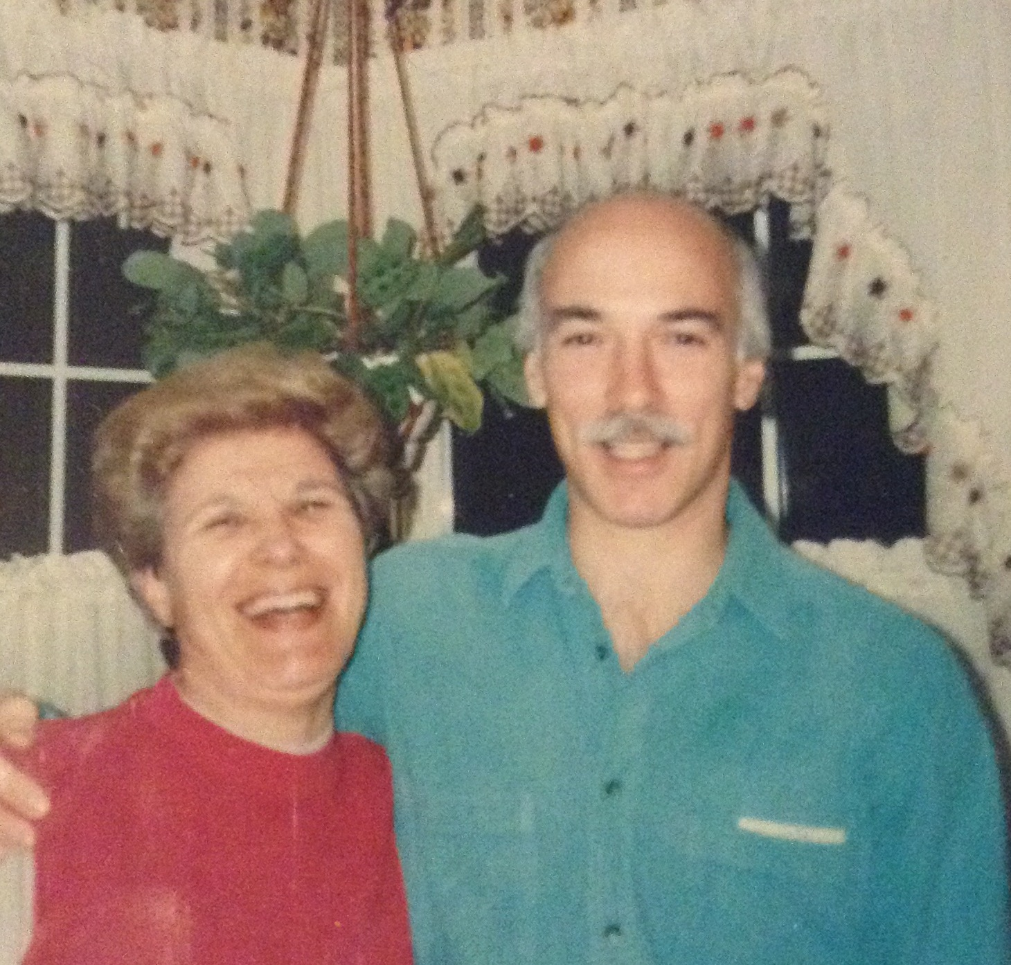 Mom with nephew Paul