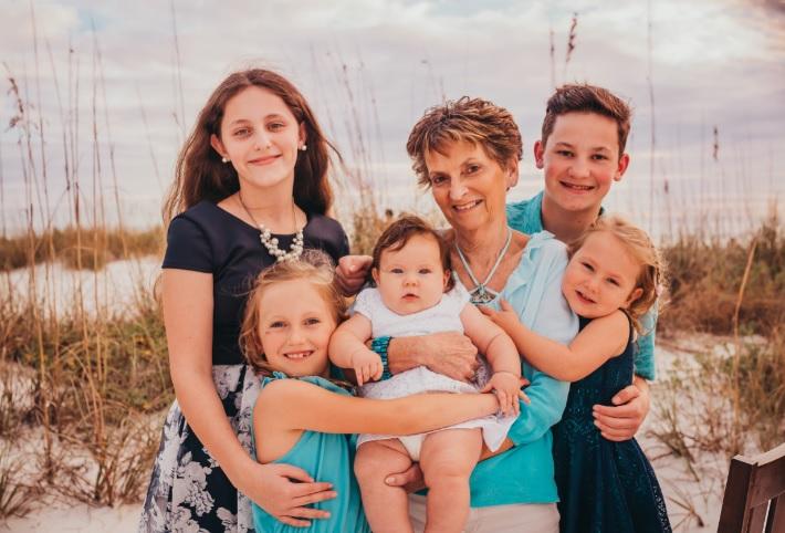Lori and kids