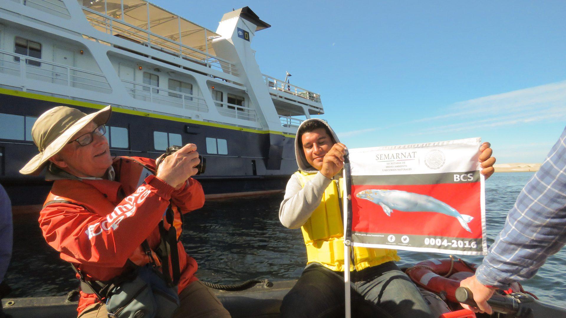 Nat. Geo whale watching cruise