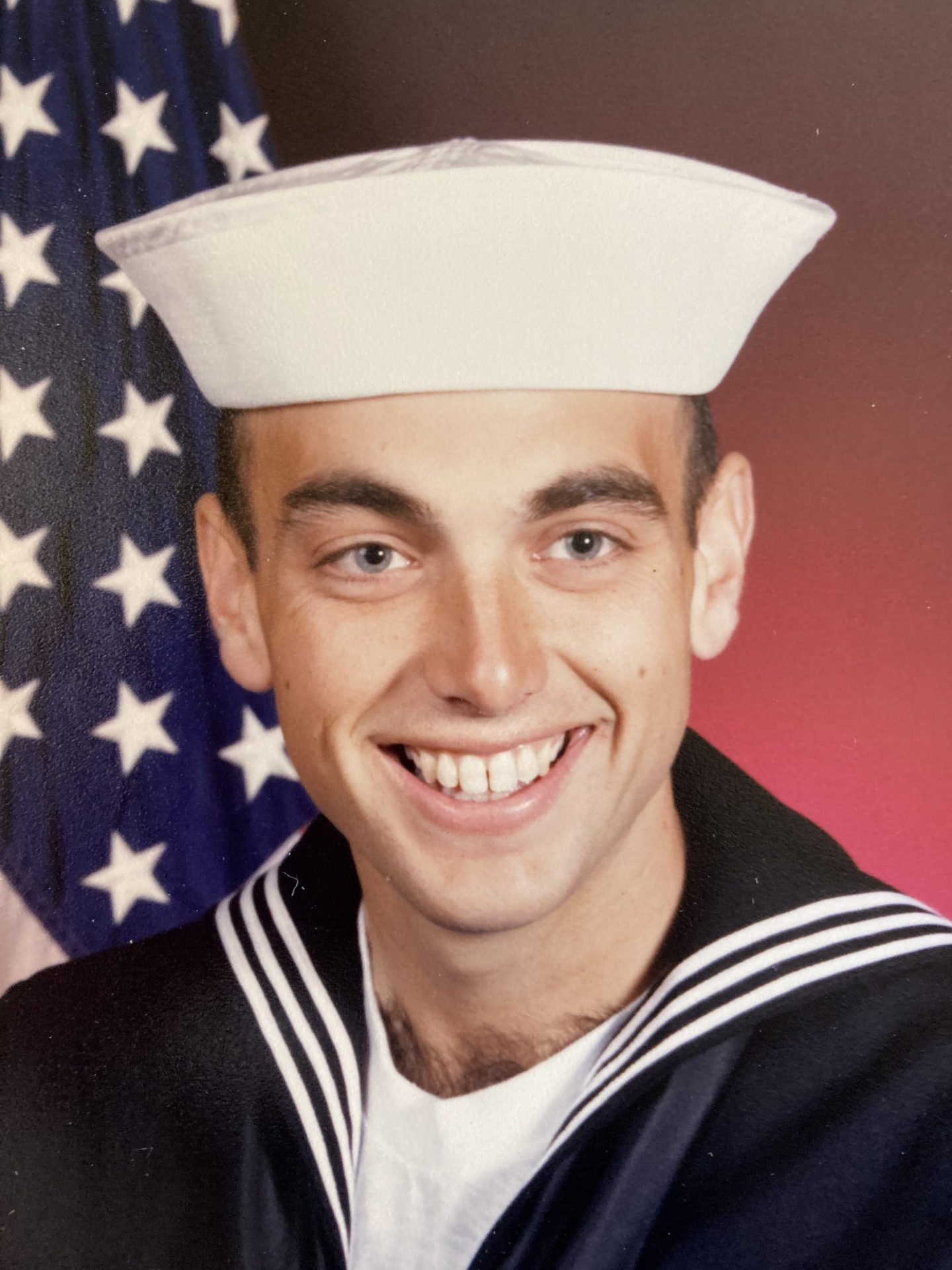 Randy's Navy Portrait.