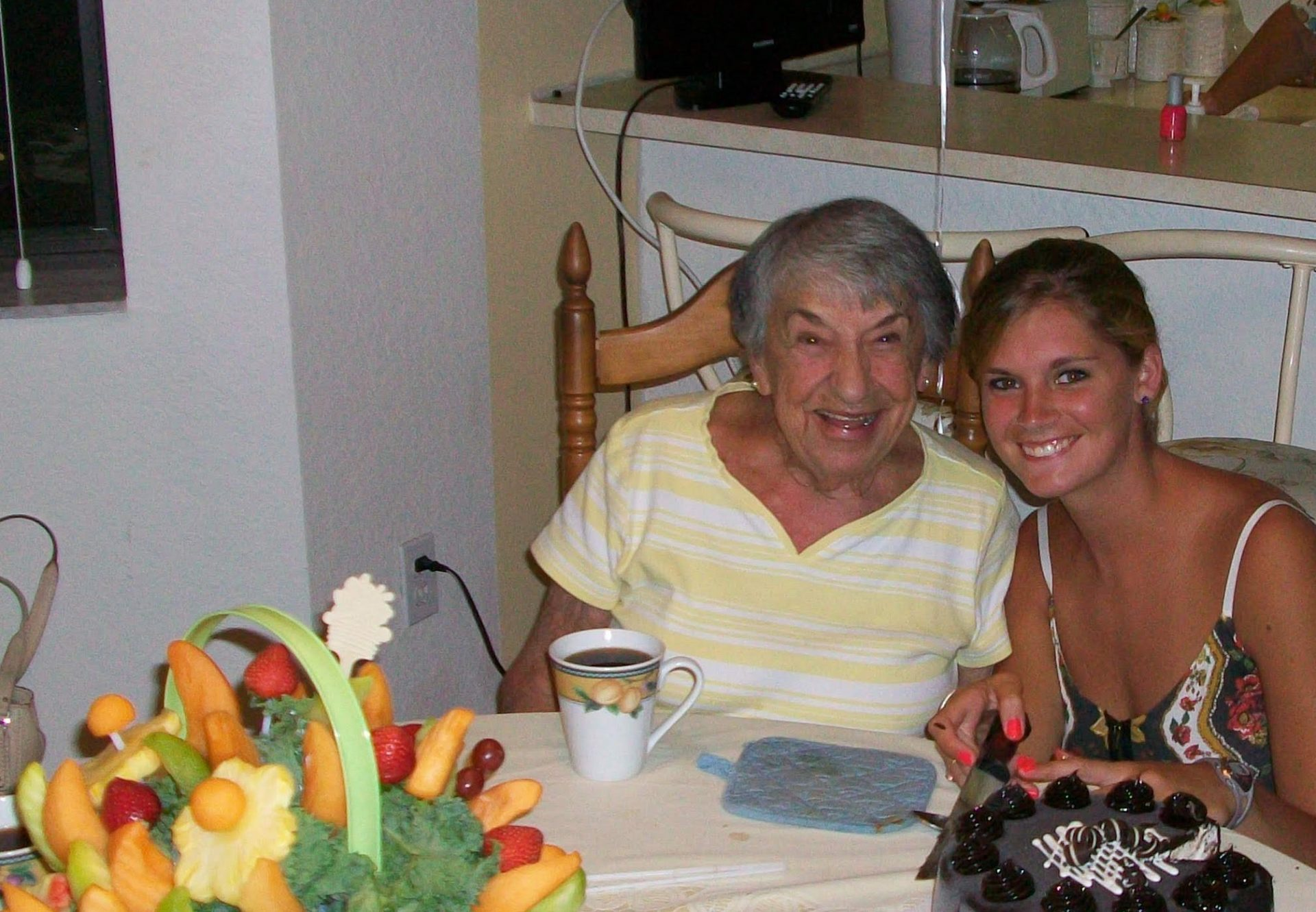 Helen (Nana) & Aspen (grand daughter)