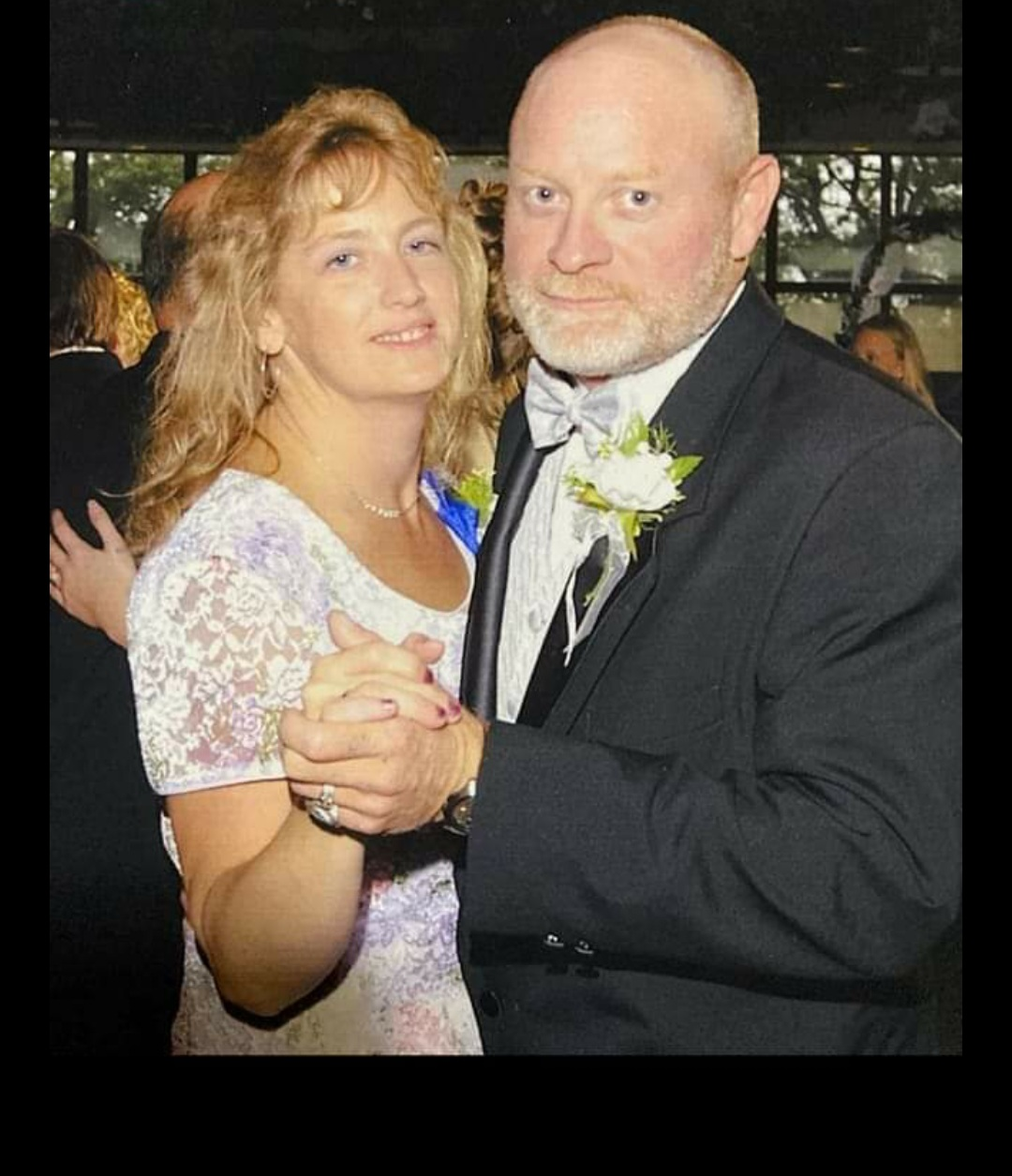 Tony and Rae at their daughters wedding