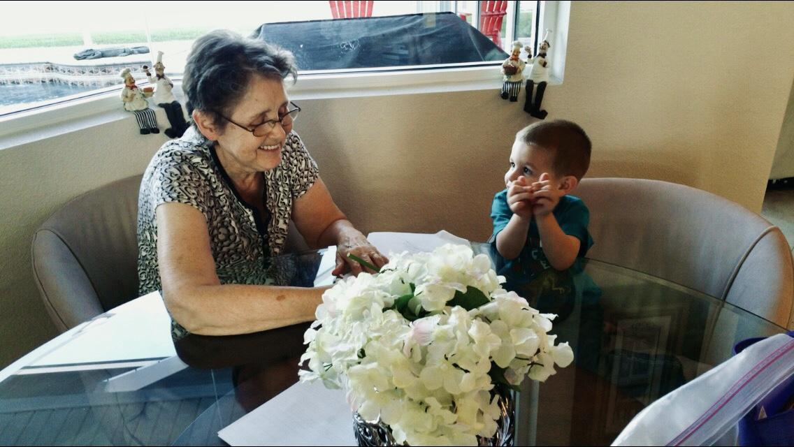 Granny and Mason