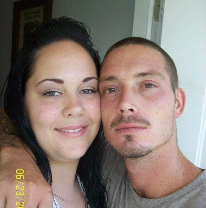 Zack & his lady, his heart, the Mother of his Children Kristy