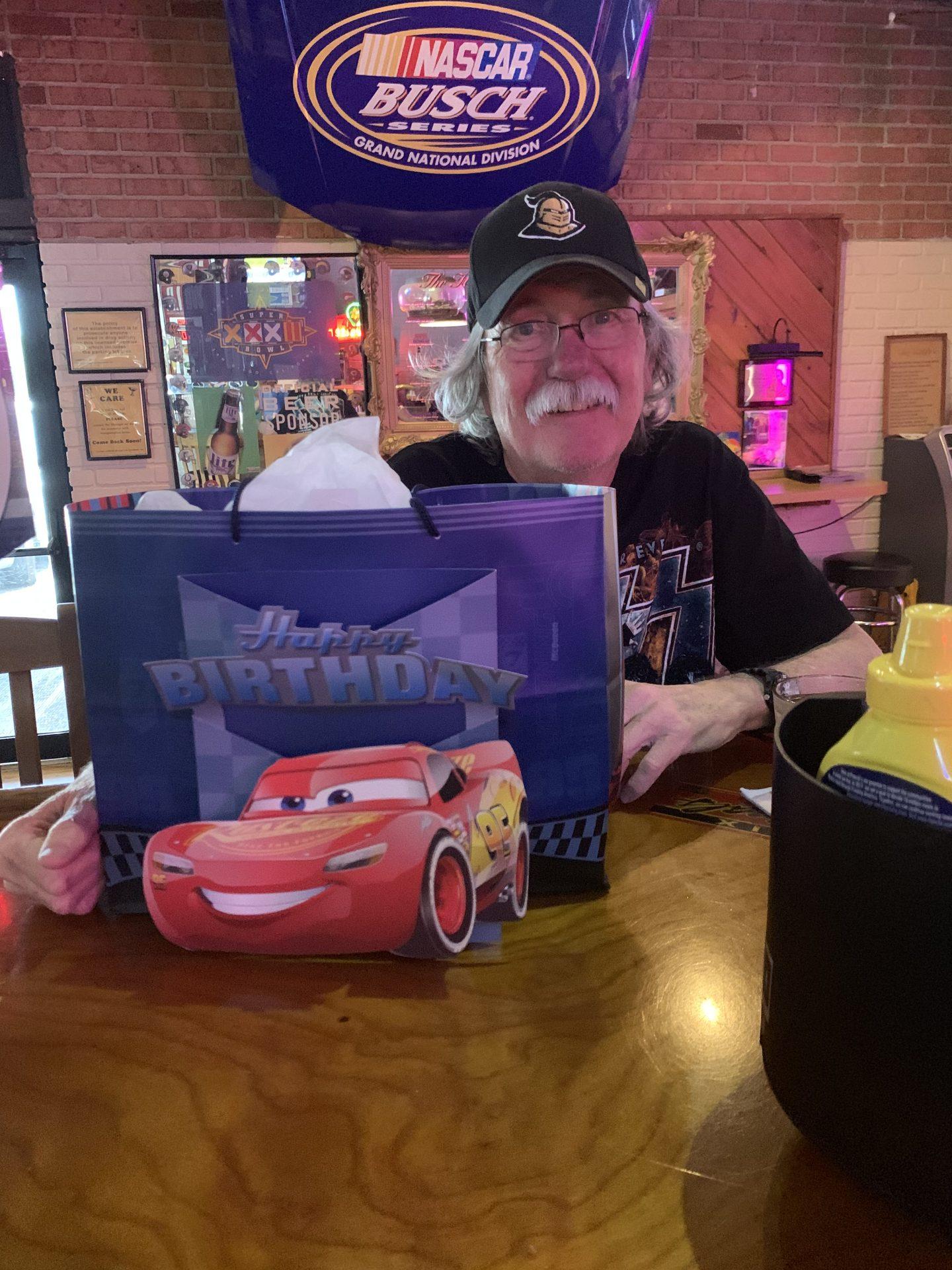 Daddy Dave's birthday last year!