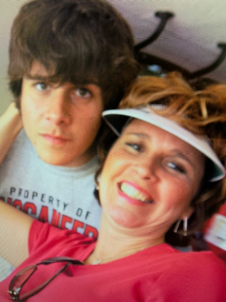 Robby and his Mom