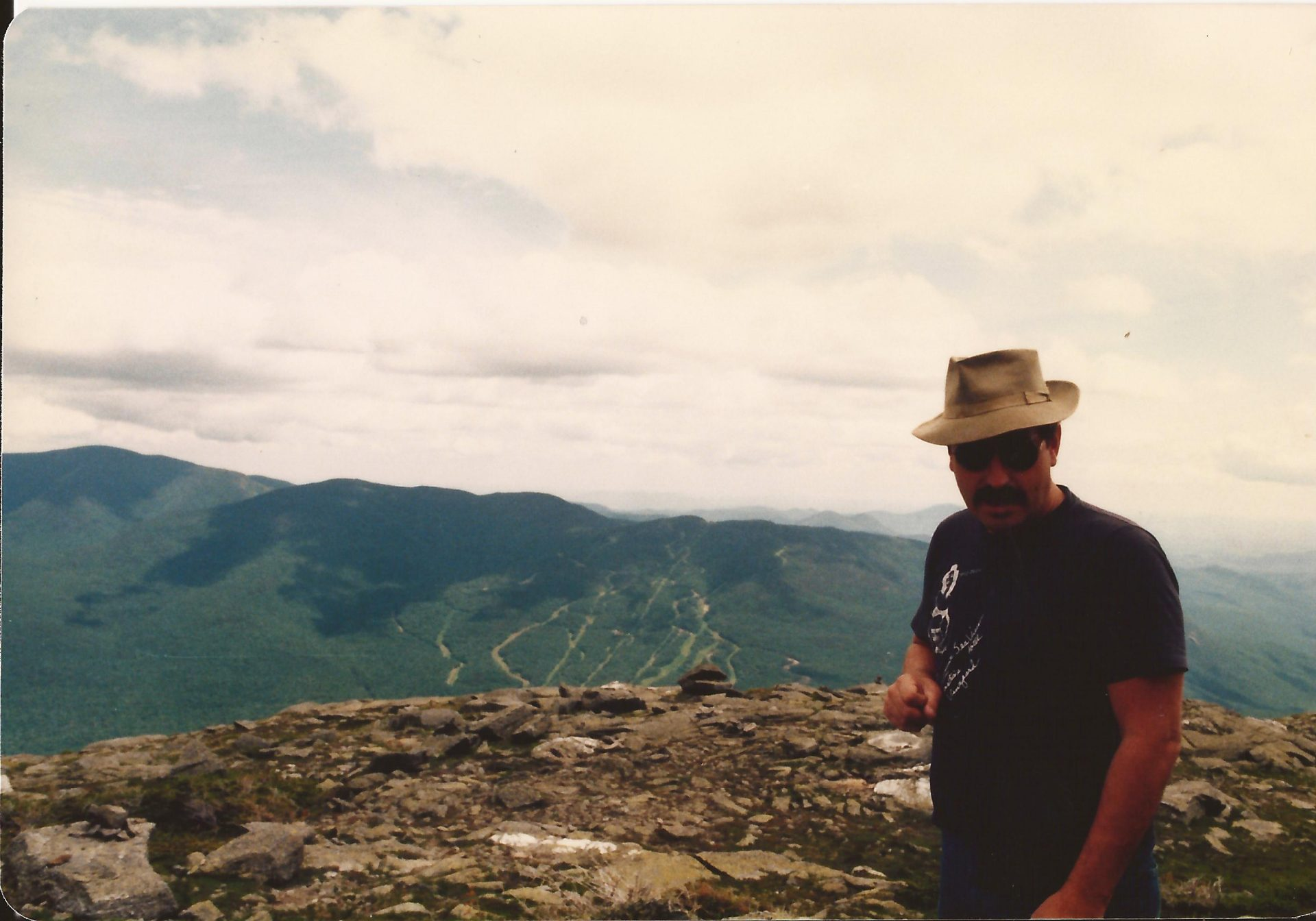 Frank @ summit of Mt. Washington