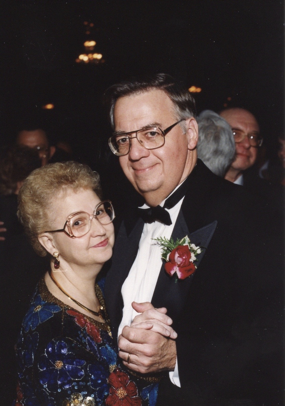 Mom and dad at my wedding, 12-31-97