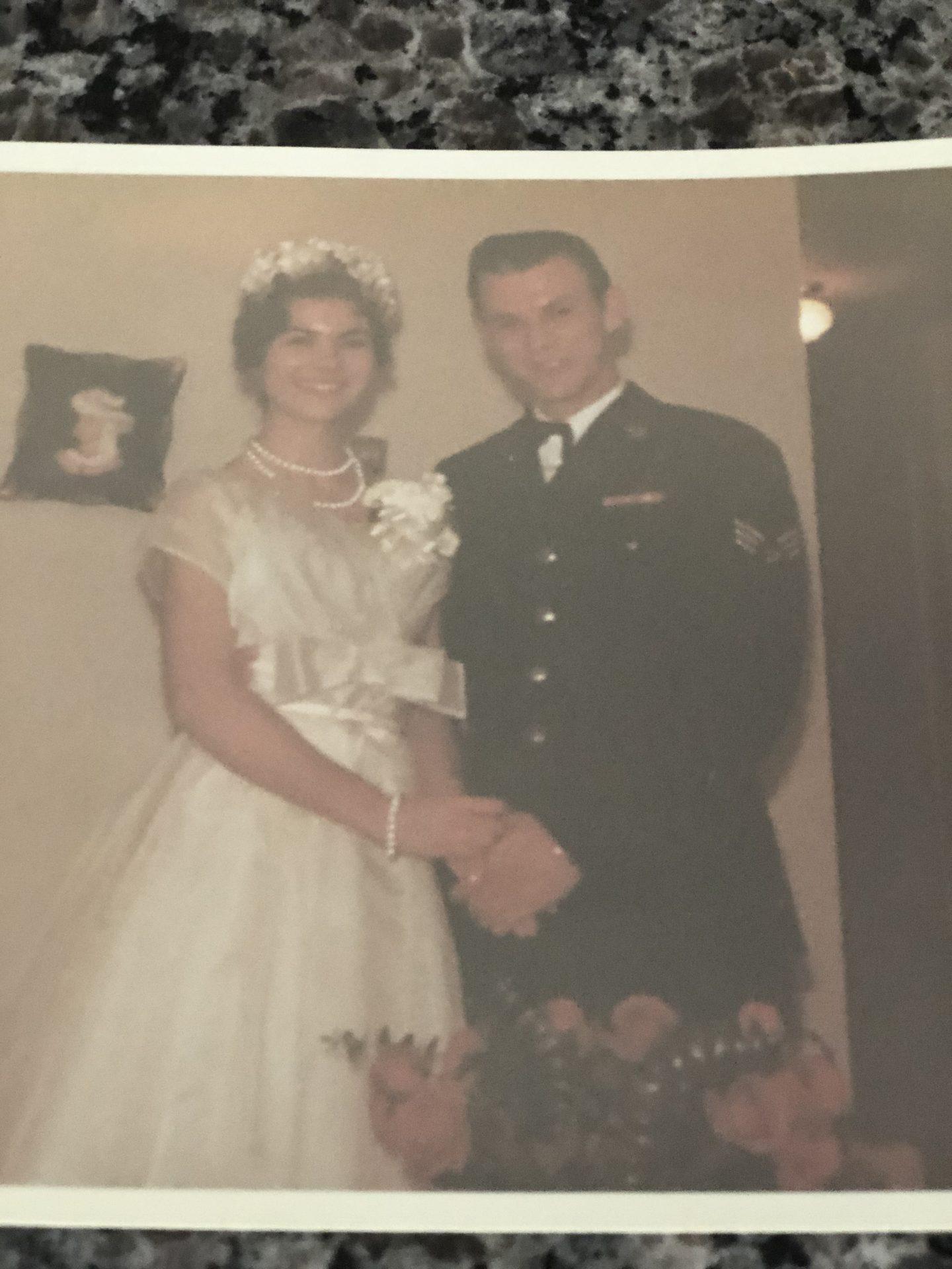 Dads wedding photo ( 1959?)