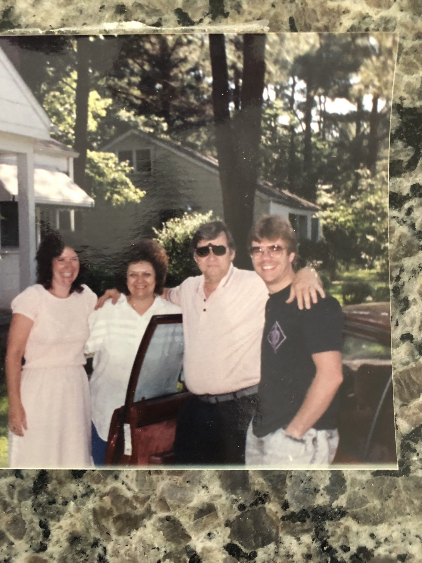 One of our vacation trips to see the Davidson's ( late 1980's I think!