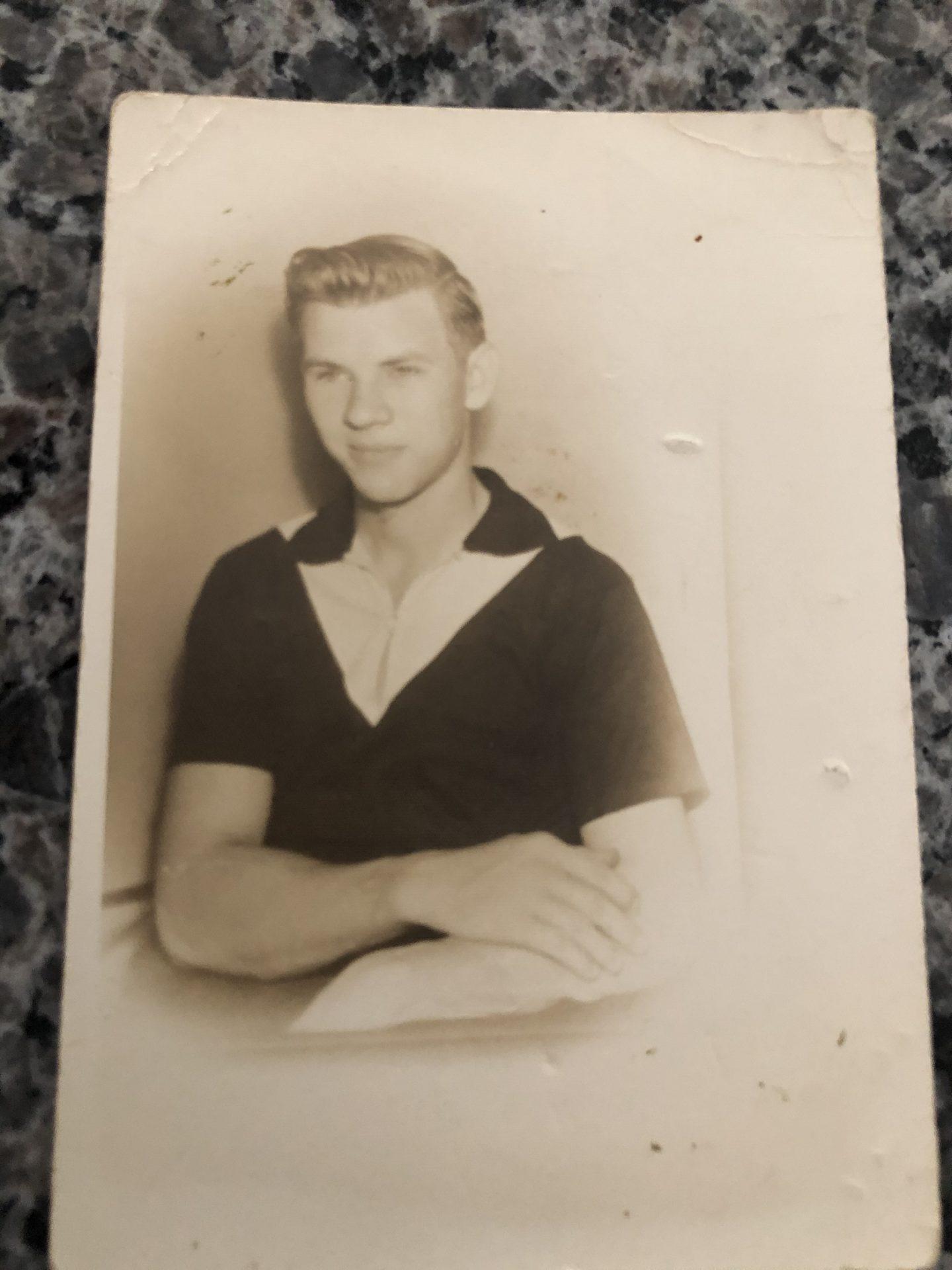 Dad in his early twenties