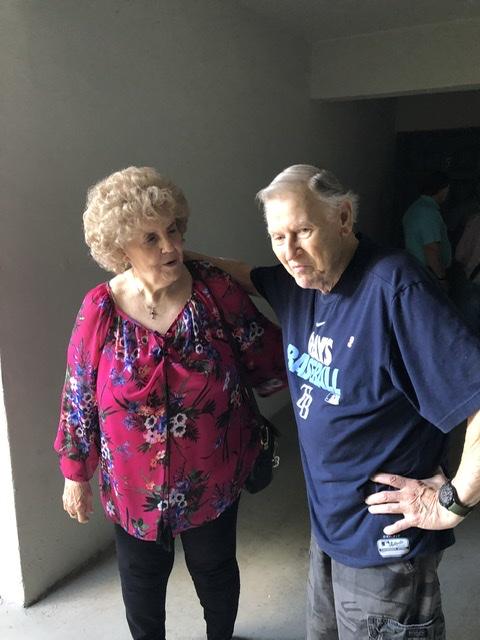 Dad and sister Gay .