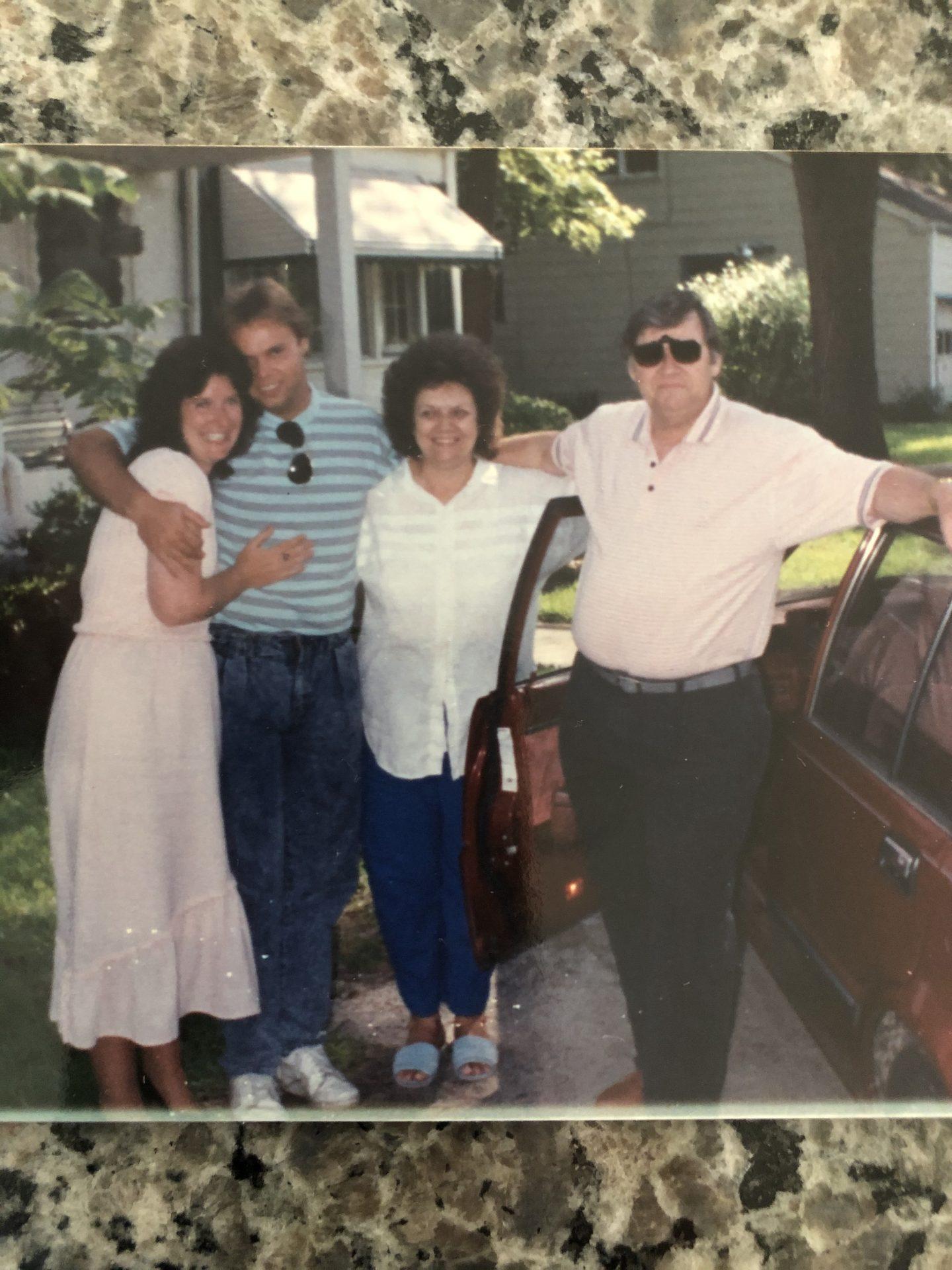 Virginia again with cousins Loretta and Shane !