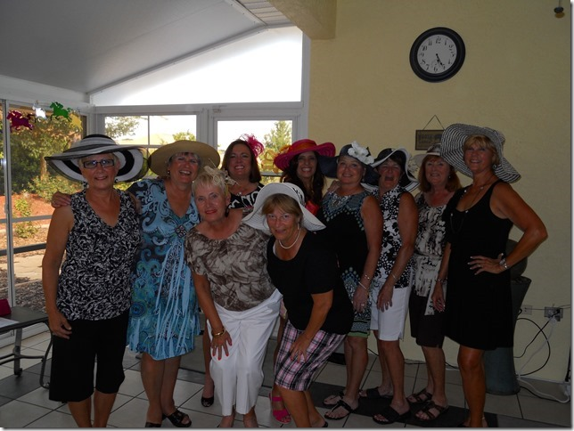 Kentucky Derby Day was always so much fun at the Gerlach's. Miriam was a great Hostess and we went home with great memories. So sorry that her time here was cut short . Our thoughts and prayers to all of you.