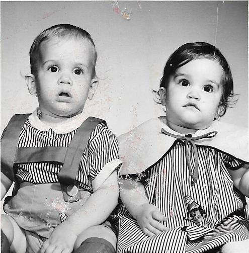 twins always photographed together.