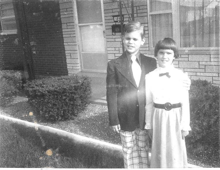 Nancy and David in the 70's