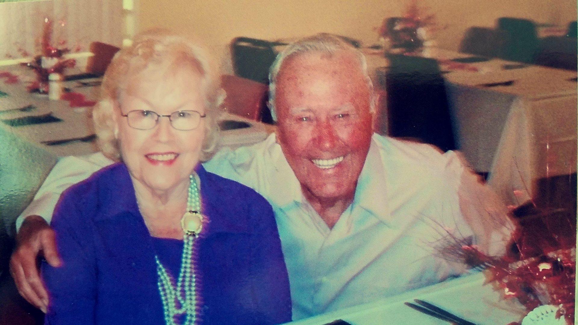 Bud and His Beautiful Wife Martha Jane