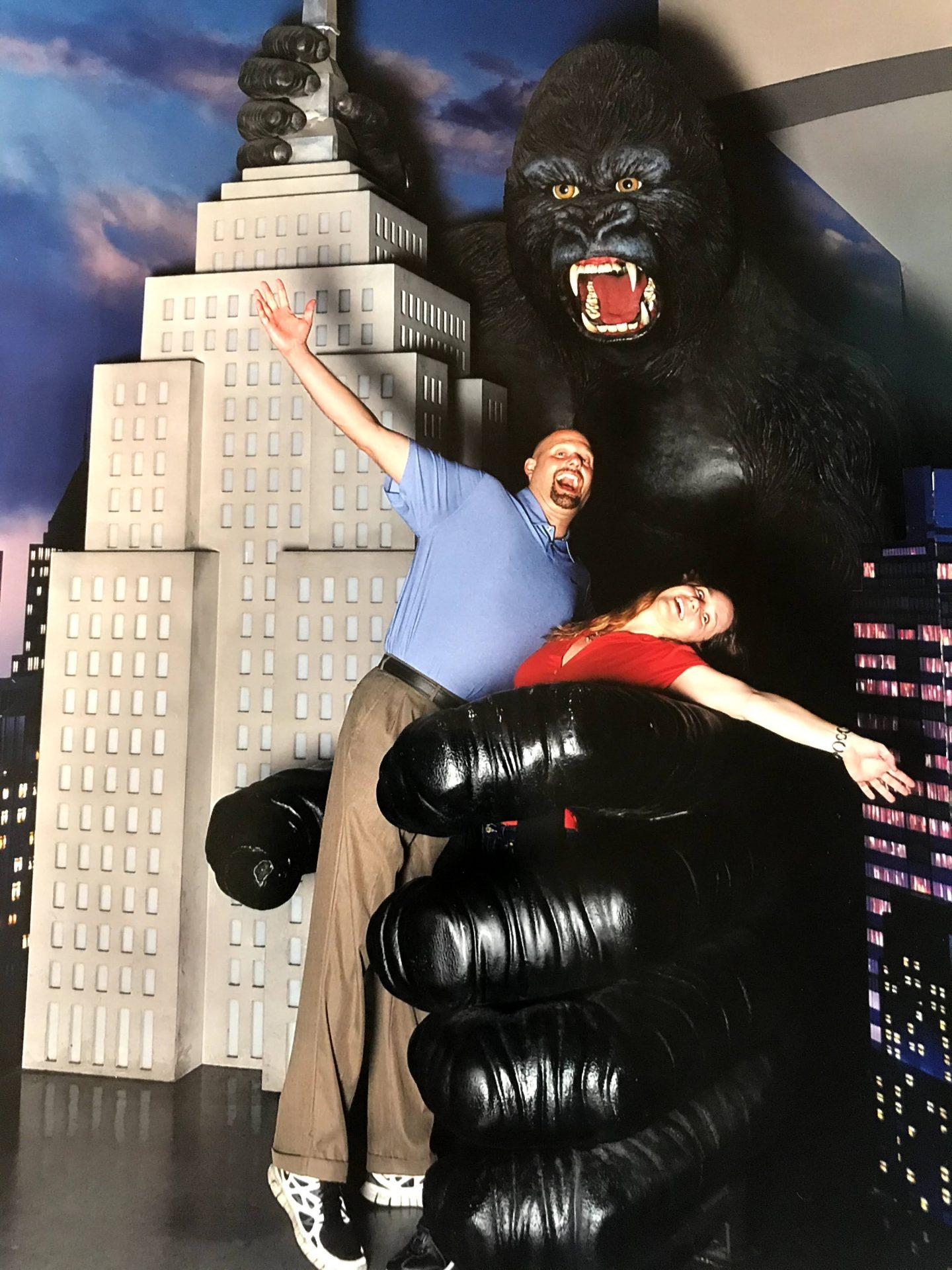 Having fun in NYC