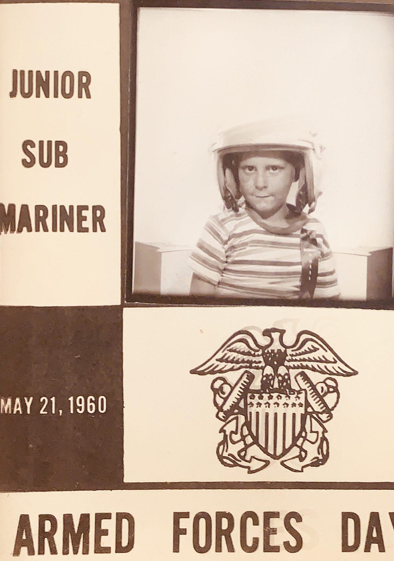 Junior Submariner Dave.