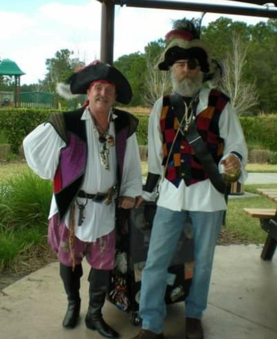 Ahoy, matey. Dave and Lester.