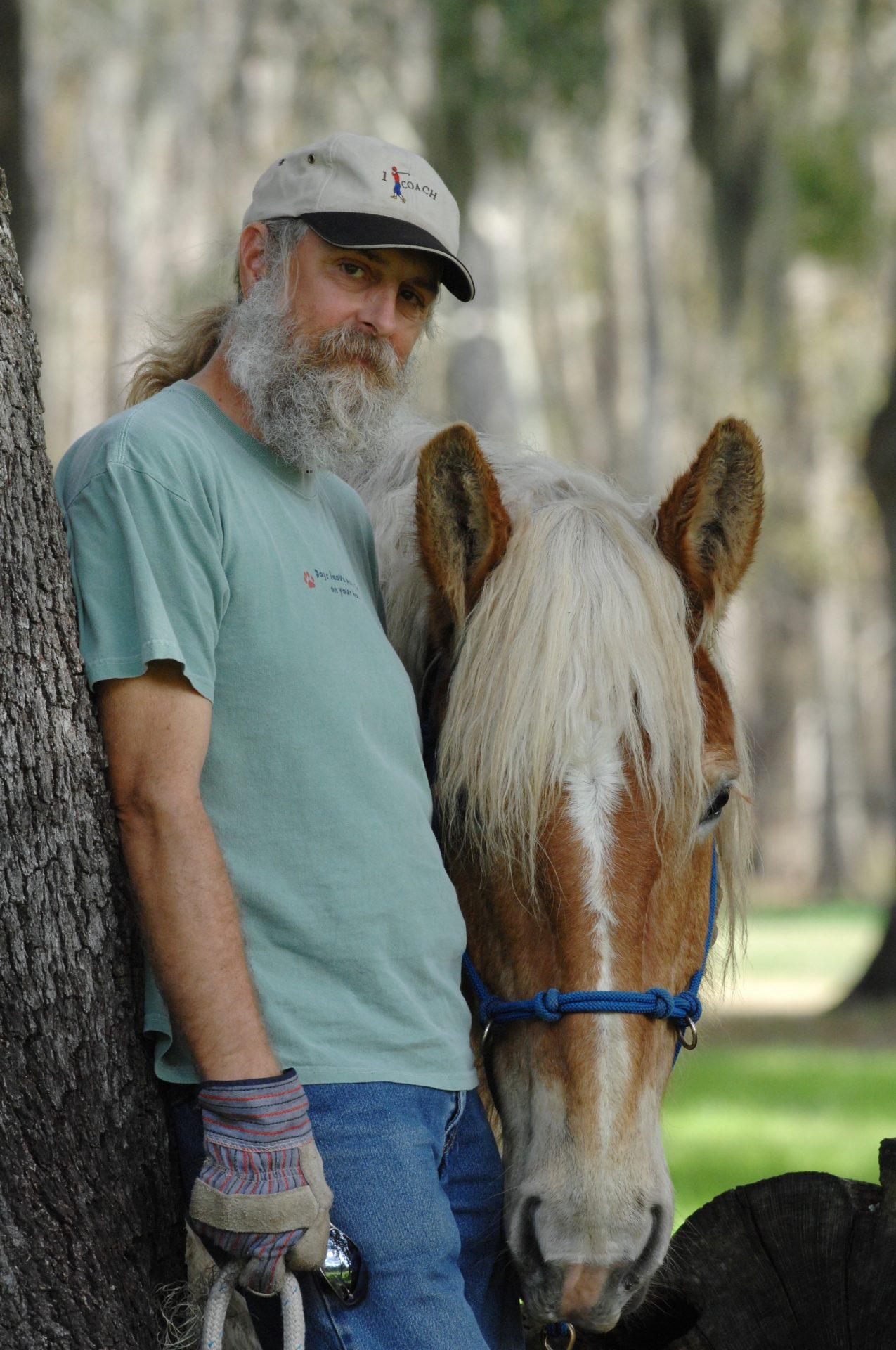 Dave and his beloved Goldilocks