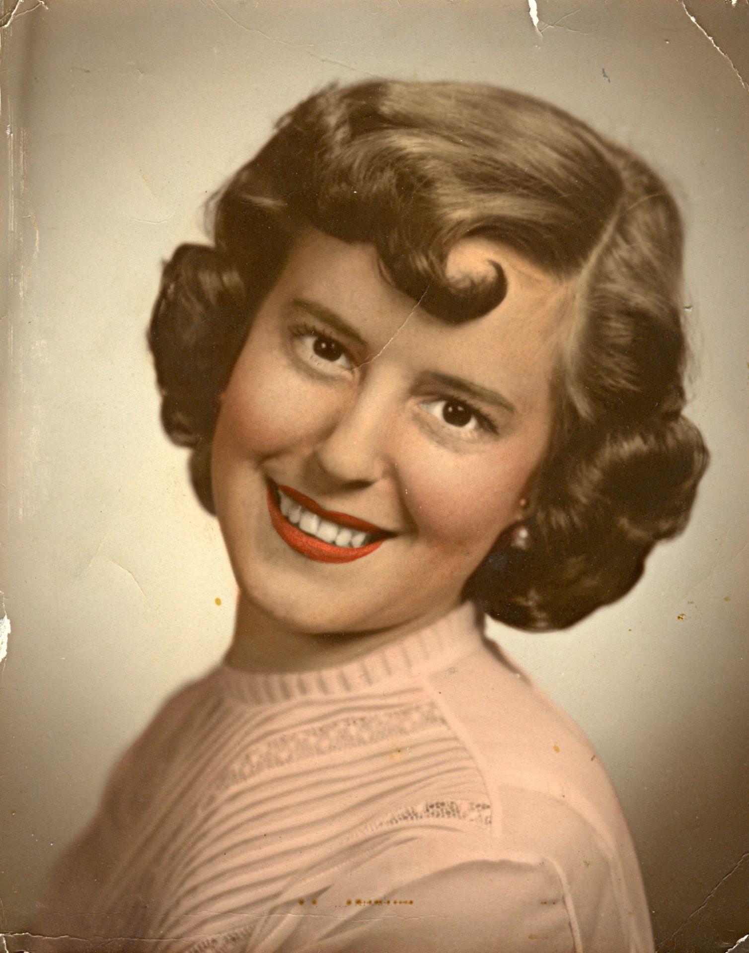 1954 - Engagement Photo