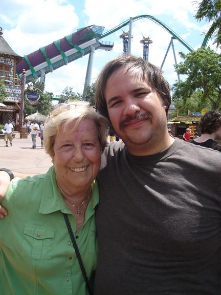 2007 Virginia and her oldest Grandson, Christopher