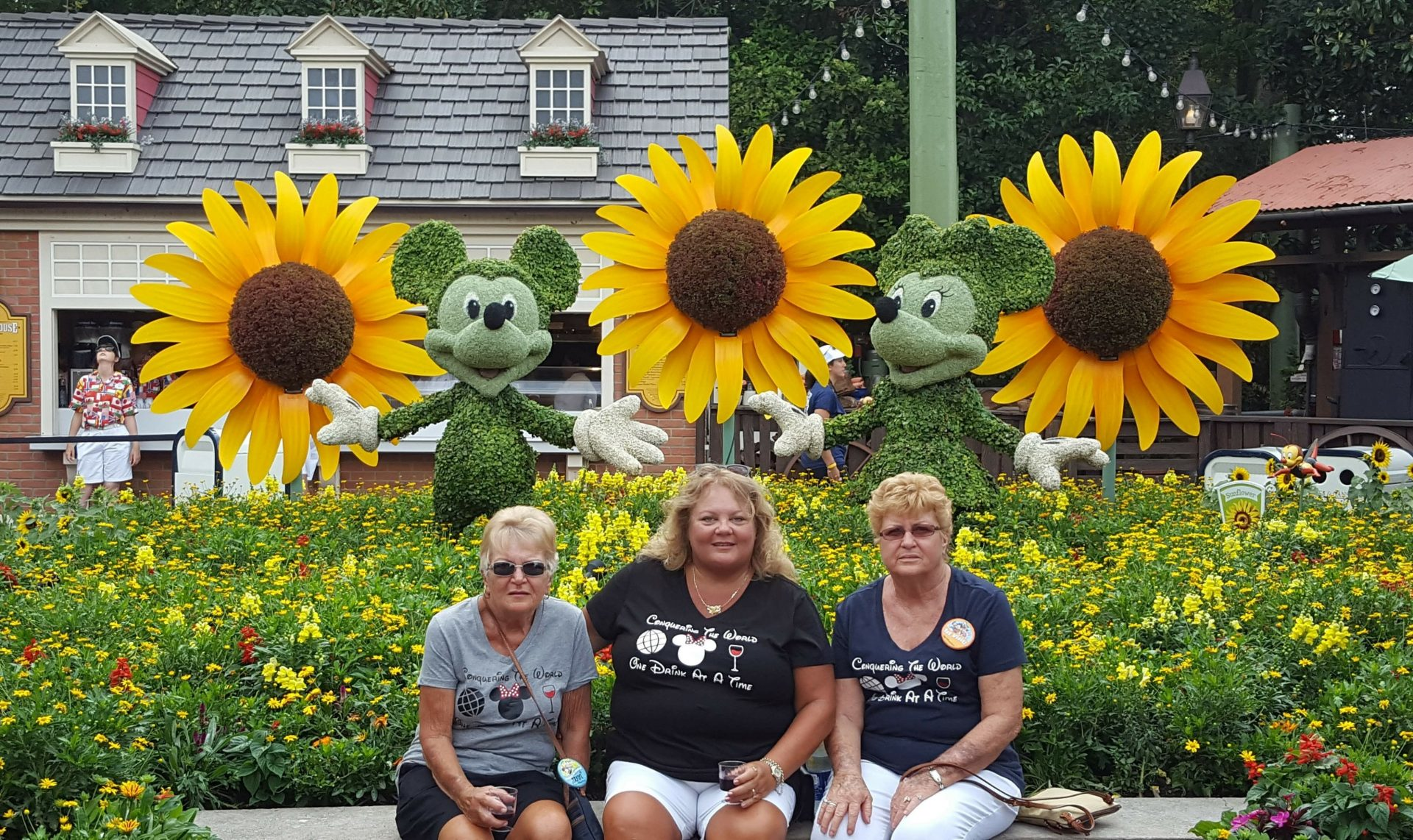 At Disney with Ann Atkins