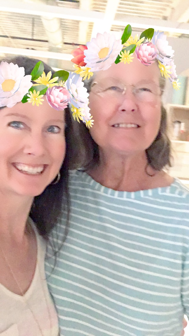 June 2018 - special memories with Mom