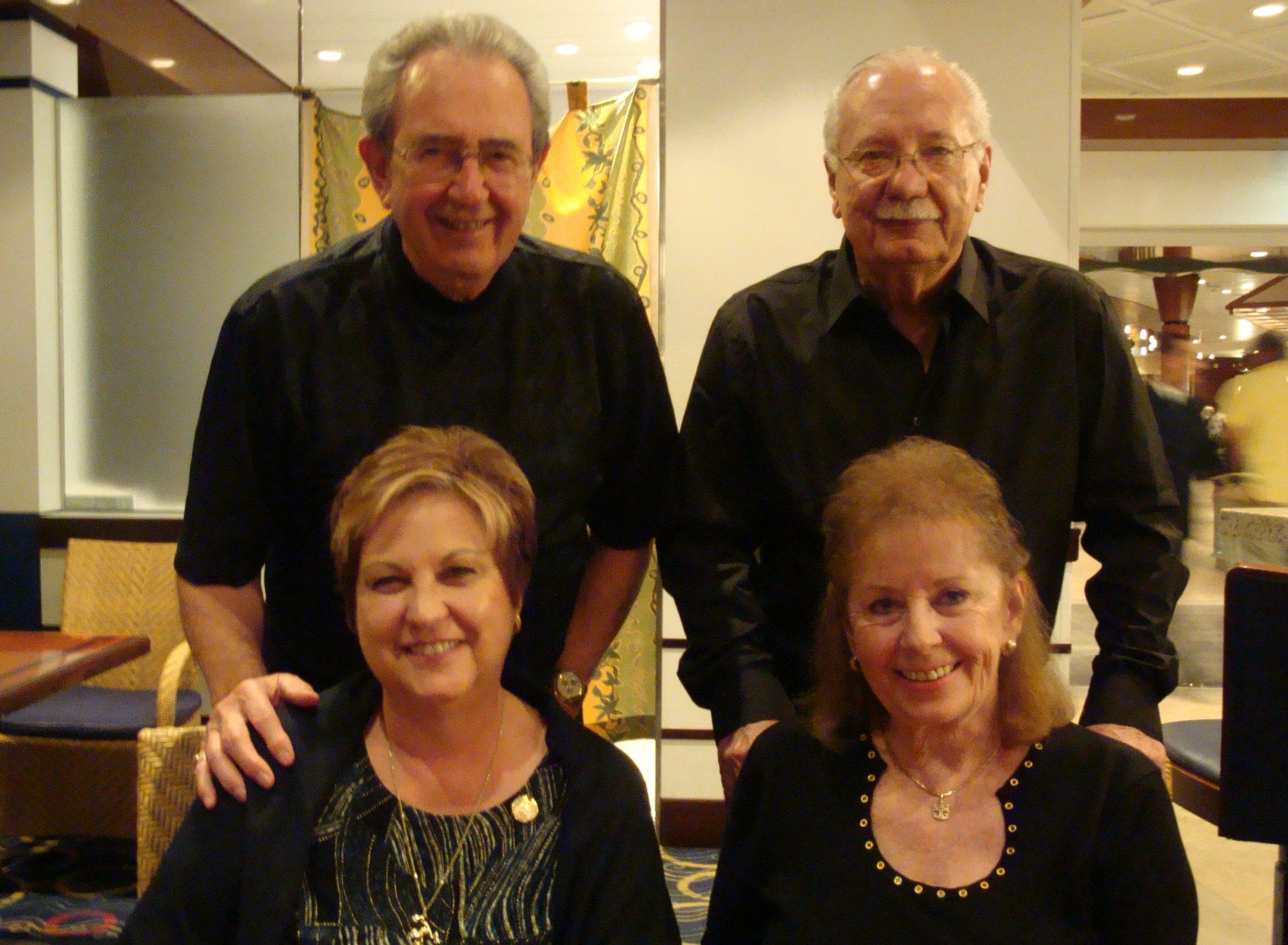 Ron, Jackie, Joyce & Chuck  TA  November 2009