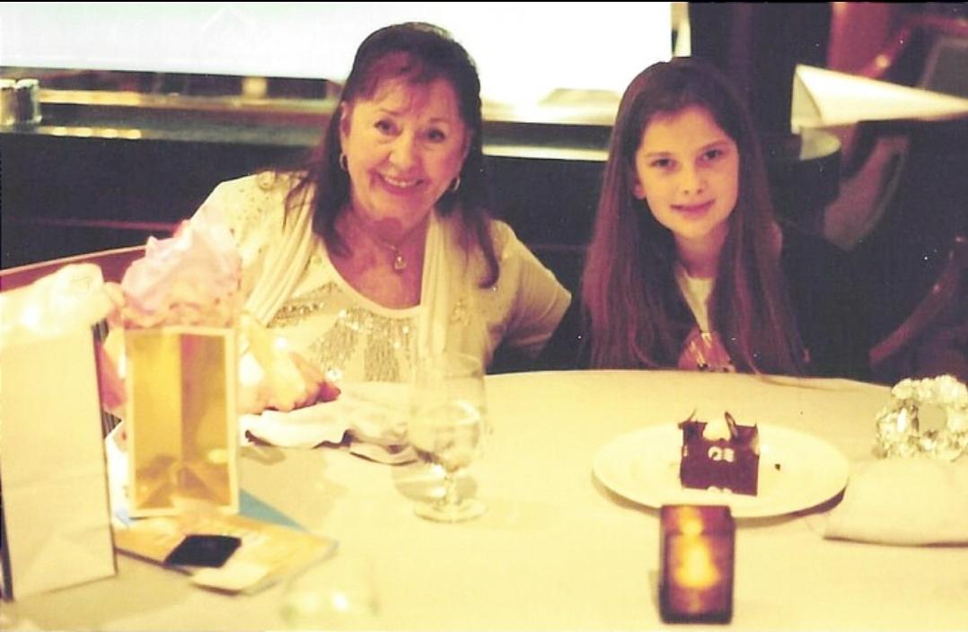 Baba & Ashley's birthday dinner