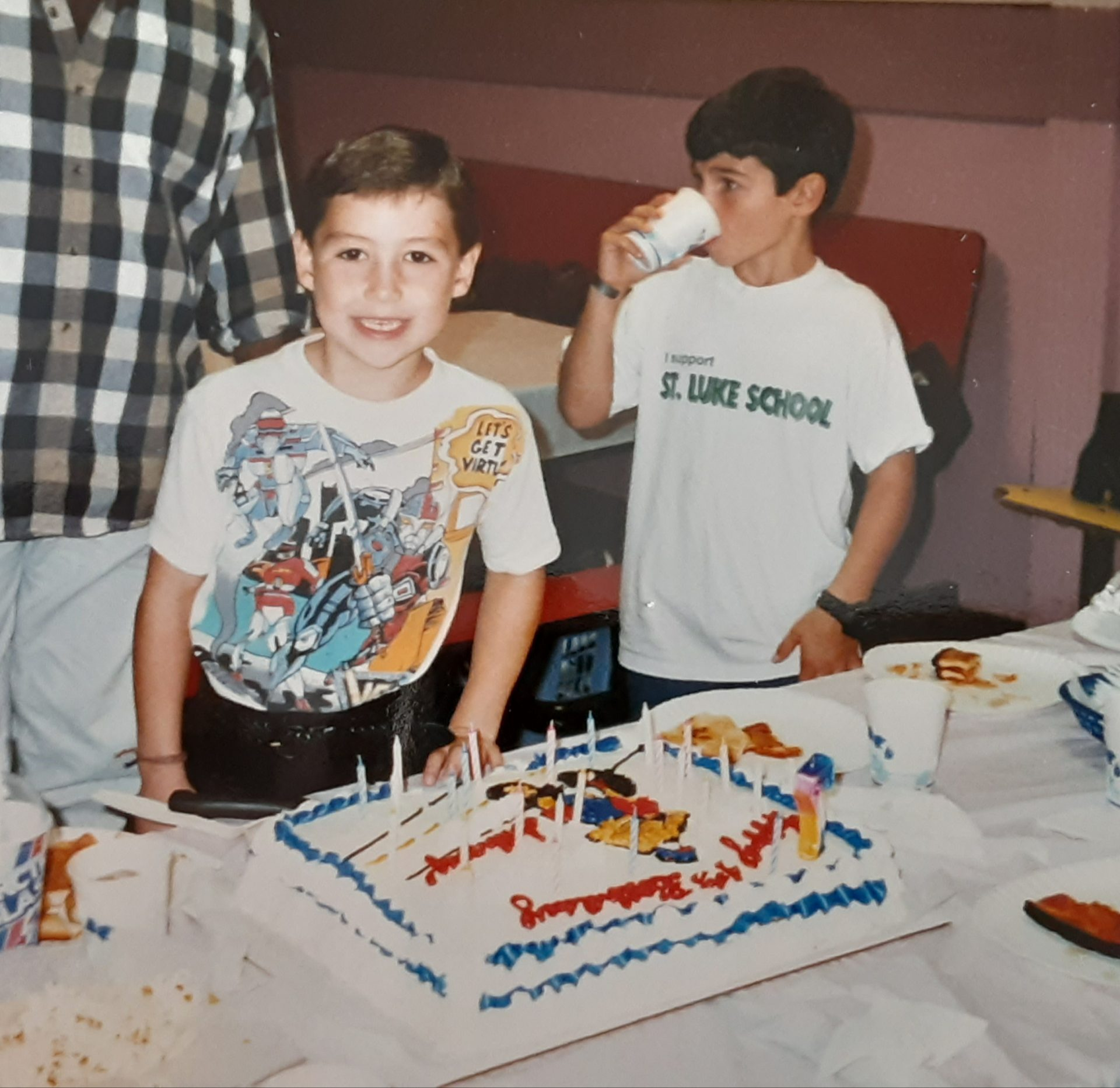 """How anthony looked forward to his<br /> birthday parties with his friends.  Seeing him have fun and being so happy was the best thing ever!  He never wanted it to be over.  He still wanted to have his friends stay after the party was over...and somehow he always talked me into it...so the party never ended until there was no hours left in the day...lol...I always tried to make his day perfect! As I am remembering his special day, i always took pictures of his day and he would say<br /> """"mom you and your pictures"""" and he would shake his head and laugh...but he was always willing, laughing and smiling to take pictures just to make me happy...I will never forget how he enjoyed his birthday!<br /> Happy Birthday!!!<br /> Anthony<br /> I love you ❤"""