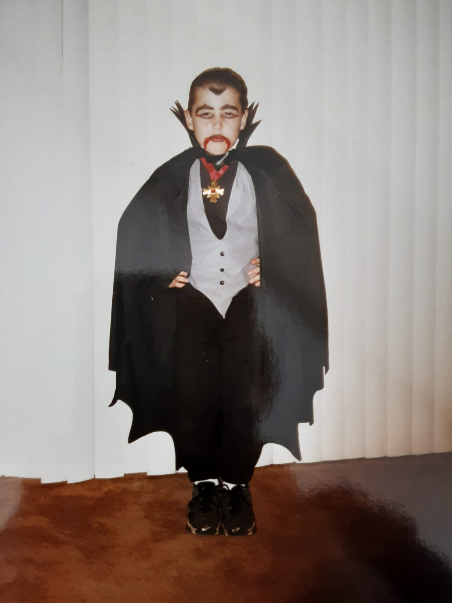 Anthony looked forward to getting dressed up on Halloween to go trick or treating.  Also he enjoyed going to haunted houses.  He had fun scaring people just to see them jump and laugh!<br /> I Miss and Love You....