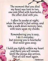 I MISS AND LOVE YOU WITH ALL MY HEART AND SOUL FOREVER!!!