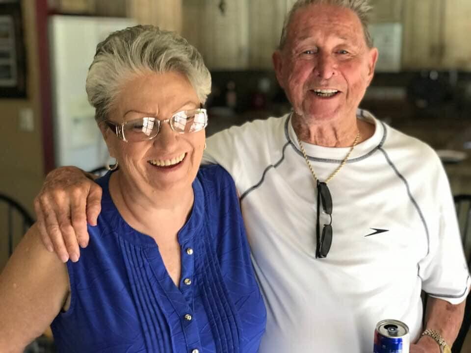 Mike & his sister Nancy