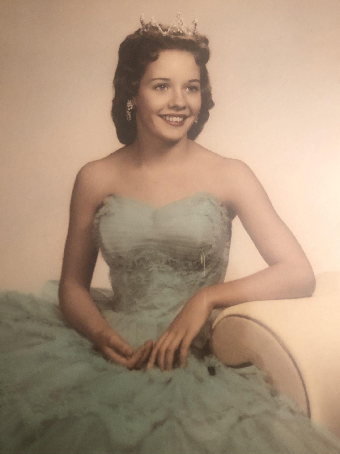 Follansbee High School Homecoming Queen 1958.