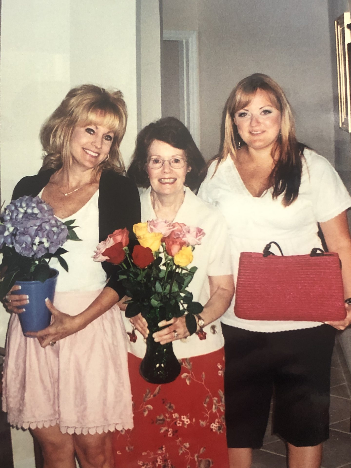 Polly, Lisa and Ashley- mother, daughter and granddaughter