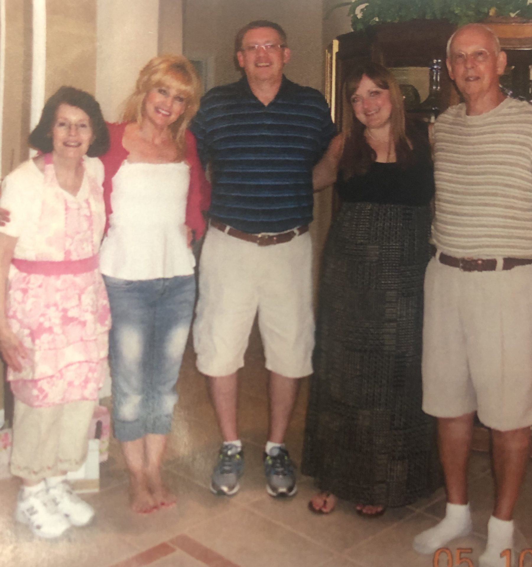 Polly, Lisa, Jeff, Ashley and Paul