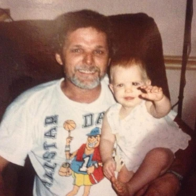 Larry and baby Brittany
